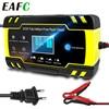12V-24V 8A Volledige Automatische Auto Reparatie Laders Power Pulse Nat Droog Lood-zuur Batterij-Opladers digitale Batterij Lcd Display