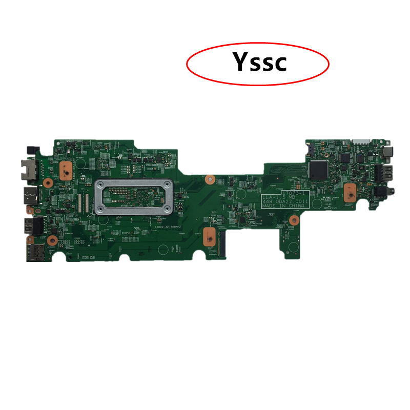 شحن مجاني 448.0DA22.0011 لوحة أم للكمبيوتر المحمول لينوفو يوغا 11e (02DC041 مع M3 7Y30 CPU 4GB RAM ) 100% اختبار OK