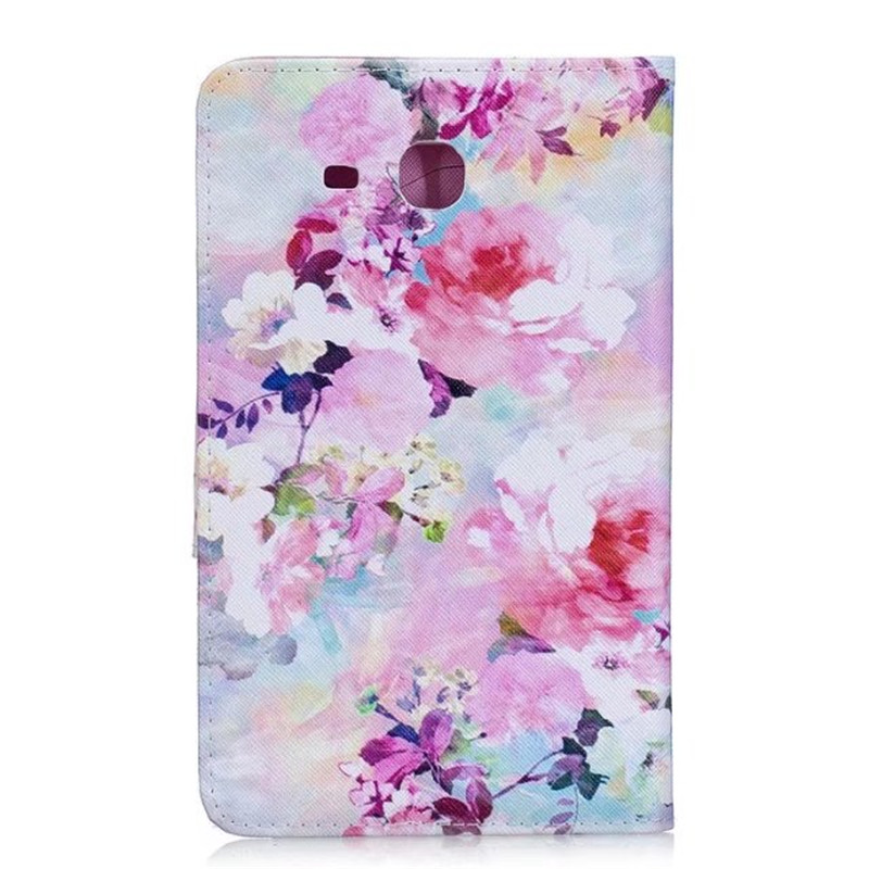 2016 Tab A6 7.0 Case For Samsung Galaxy Tab A 7.0 T280 T285 SM-T280 Case Cover Tablet Cat Butterfly Flip Leather Funda Shell