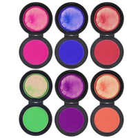 4 Pcs/6 Pcs Temporäre Haar Farbstoff Pulver Set Reusable Tragbare Waschbar Schnelle Sichere Haar Farbstoff Farbe Farbe Schönheit weiche Pastelle Salon Werkzeug