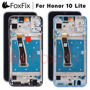 Image 1 - FoxFix Display For Huawei Honor 10 Lite LCD Display HRY LX1 HRY LX2 HRY LX1T Touch Screen For Honor 10 Lite Display With Frame