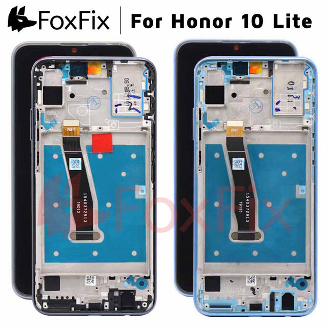 FoxFix Display For Huawei Honor 10 Lite LCD Display HRY LX1 HRY LX2 HRY LX1T Touch Screen For Honor 10 Lite Display With Frame