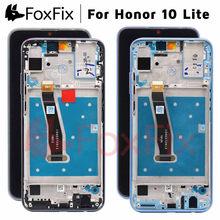 FoxFix תצוגה עבור Huawei Honor 10 Lite LCD תצוגת HRY LX1 HRY LX2 HRY LX1T מגע מסך לכבוד 10 תצוגת לייט עם מסגרת