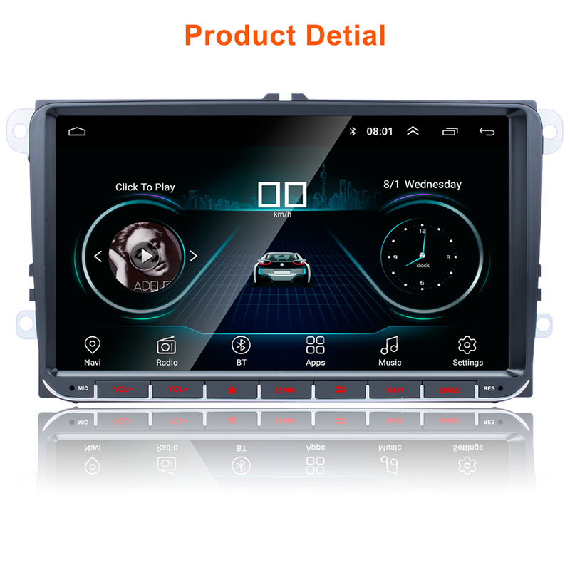 Android 9'' VW GPS 2 din 10