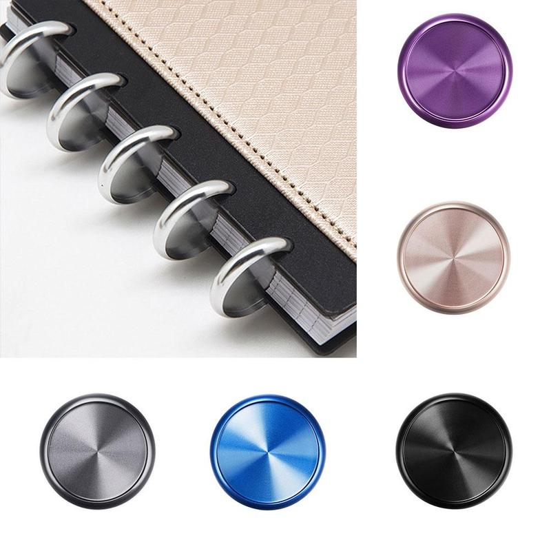 1pcs Note Book Accessories Rings Metal Discbound Discs Ring 24mm Mushroom Hole Notepad Special Buckle Binding Accessories