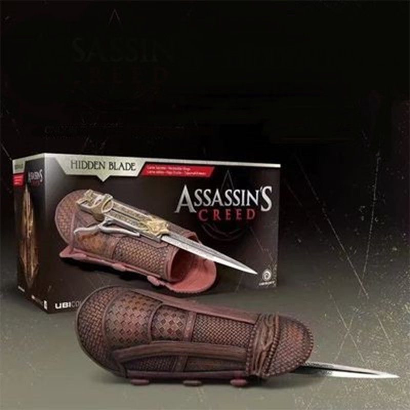 Assassins Creed Hidden Blade Sleeve Sword Action Figure Hidden Blade Edward Weapons Sleeves Swords Can The Ejection Kids Gift