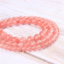 Wholesale Red Watermelon Natural Stone Beads Round Beads Loose Beads For Making Diy Bracelet Necklace 4/6/8/10/12MM