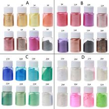 8 Colors 10g Epoxy Resin Colorant Powder Mica Pearlescent Pigments Kit