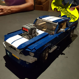 21047 Forded Mustanged 10265 Bricks Lepinblocks Creator Car Technic Classic Muscle Race Car 11293 DG023 91024 Building Blocks(China)