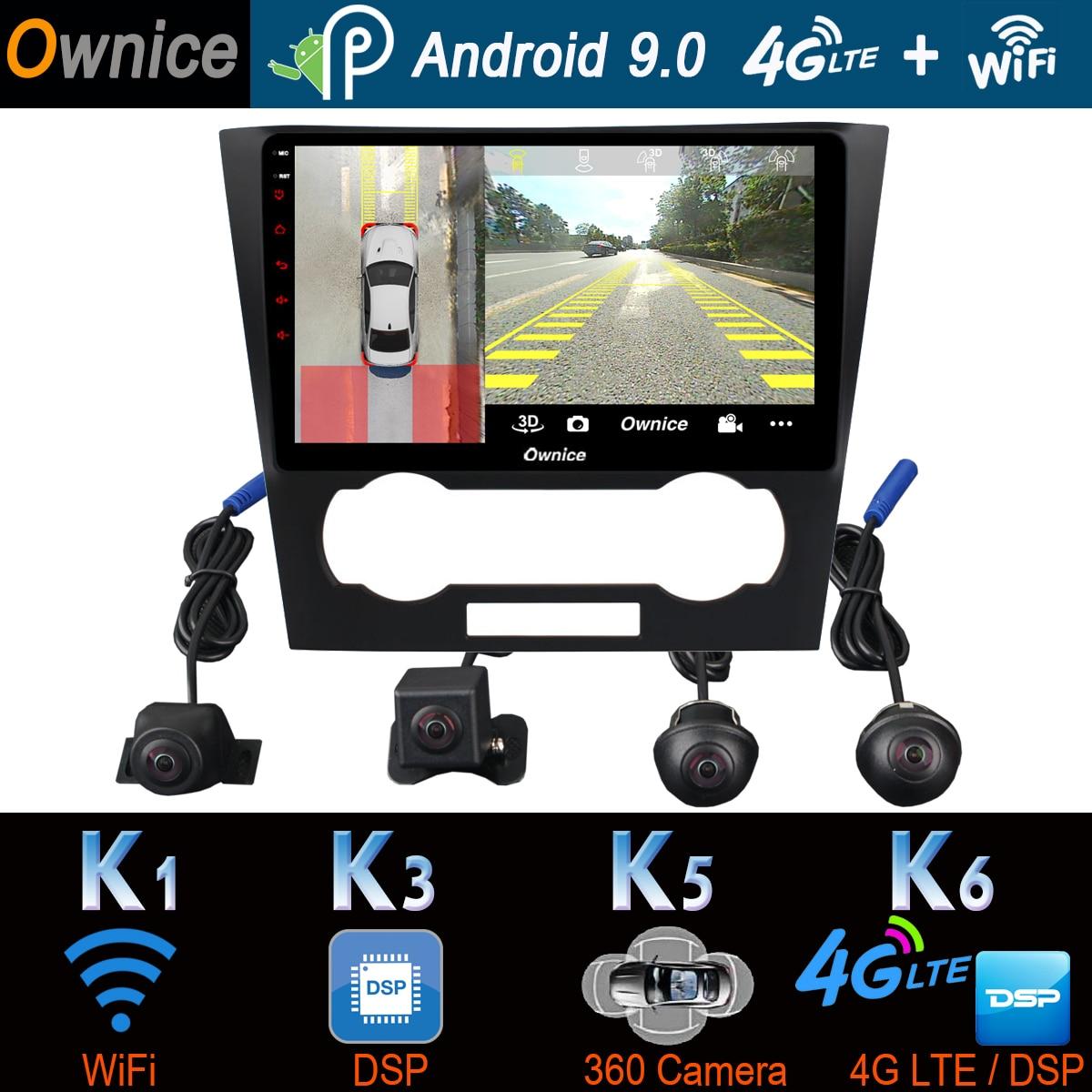 360° Panoramic Camera 4G LTE Android 9.0 4G+64G GPS Radio ...