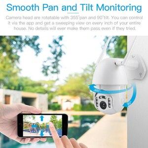 Image 4 - FREDI Auto Tracking Wasserdichte Outdoor Ip kamera 1080P Speed Dome Überwachungs Kameras Drahtlose WiFi Sicherheit CCTV Kamera YCC365