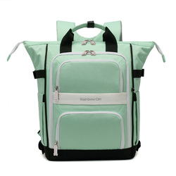 New Orthopedic School Backpack for Girls Sweet Candy Color Book Satchel 40cm Children Primary Kids Knapsack Escolar Grade 3-5-6