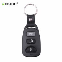KEBIDU 433 MHz Remote Control Copy 4 Channel Cloning Duplicator Key Fob A Distance Learning Electric Garage Door Controller RF