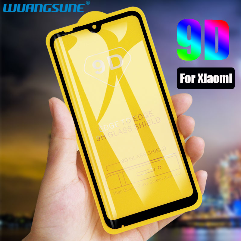 9D Tempered Glass On The For Xiaomi 8 9 9T Pro A2lite A3 Screen Protector For Xiaomi 9SE CC9E PLAY Protective Glass Film