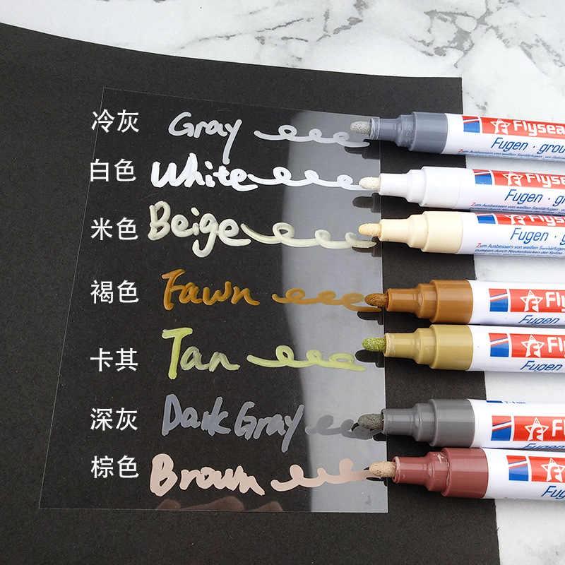 אריח פער תיקון צבע עט לבן אריח מילוי לדיס עט עמיד למים Mouldproof מילוי סוכנים קיר פורצלן אמבטיה צבע מנקה