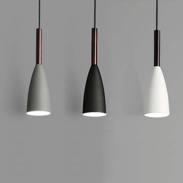 Moderne 3 pendentif éclairage nordique minimaliste pendentif lumières sur Table à manger cuisine île suspendus lampes salle à manger lumières E27 - 4