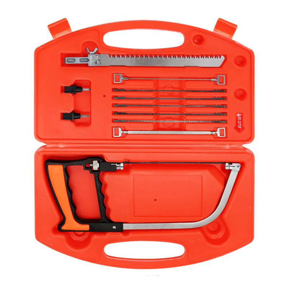 Universal Hand Saw Kit Woodworking Tool Portable Durable For Wood Metal Glass Tiles _WK