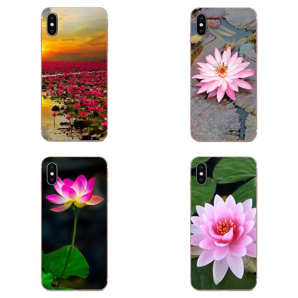 Розовый, белый, красный цветок лотоса для Xiaomi Redmi Mi 4 7A 9T K20 CC9 CC9e Note 7 8 9 Y3 SE Pro Prime Go Play Style Design|Чехлы-накладки|   | АлиЭкспресс