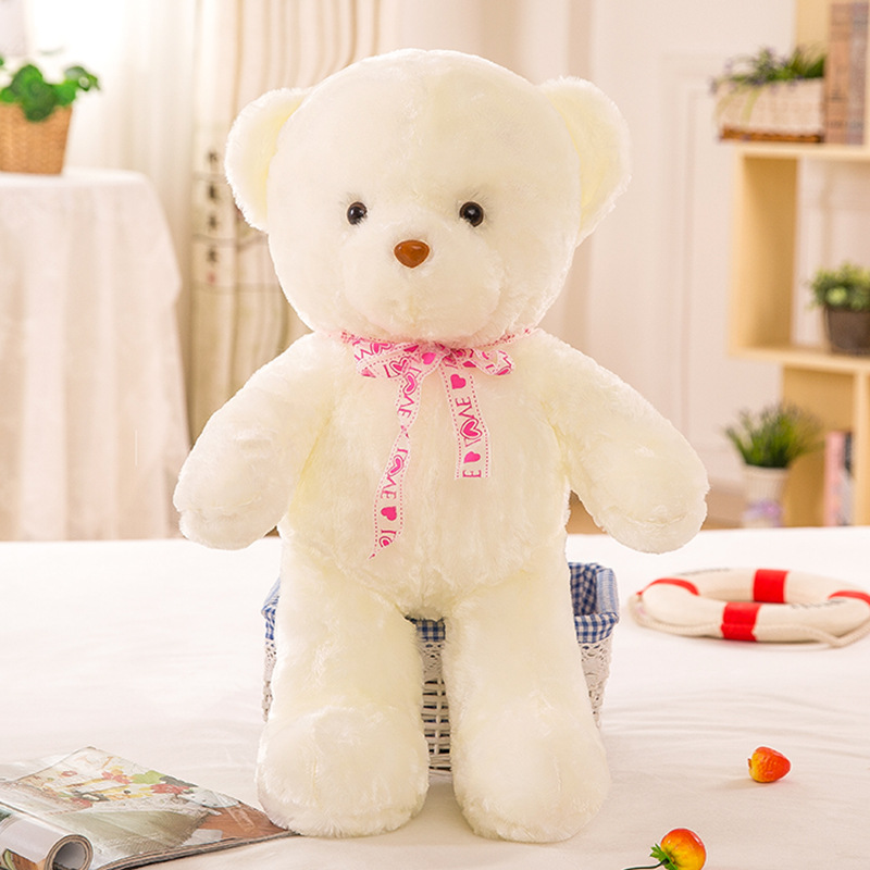 Música Teddy Bear Stuffed Animal Plush Brinquedo