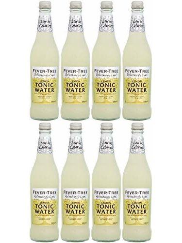 Fever Tree Refreshingly Light Lemon Tonic Water 500 Ml (Pack Of 8)