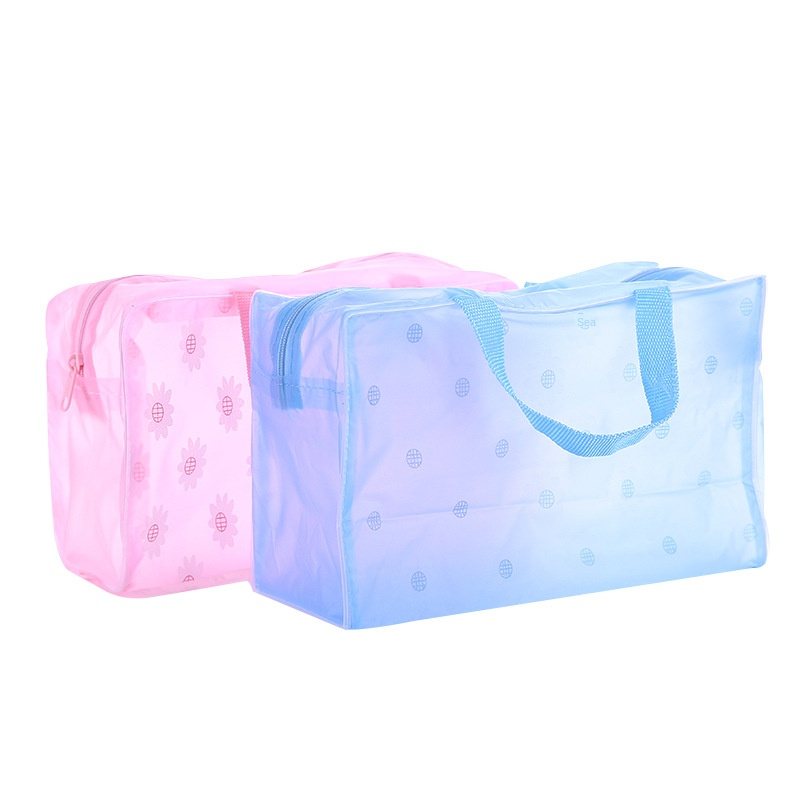Diysomes Accessories Winter Summer Parts Space PVC Waterproof Cosmetic Bag Cosmetic Cases Zipper Box Fashion