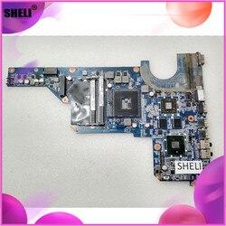 SHELI 636372-001 636371-001 do HP G4 G6 G4-1000 płyta główna DA0R12MB6E0