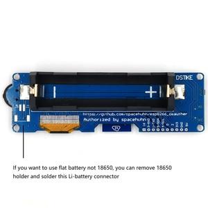 Image 2 - DSTIKE WiFi Deauther OLED V5 ESP8266 carte de développement pour 18650 batterie Protection de polarité avec boîtier antenne 4 mo I1 003