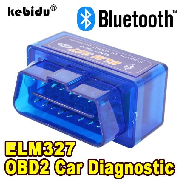 Bluetooth ELM327 последняя версия V2.1 Новый Автомобильный сканер OBD считыватель кодов инструмент для диагностики автомобиля Супер Мини ELM 327 для Android