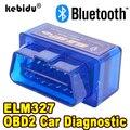 Bluetooth ELM327 Новейшая Версия V2.1, новый Автомобильный сканер OBD, считыватель кодов, автомобильный диагностический инструмент, Супер Мини ELM 327 дл...