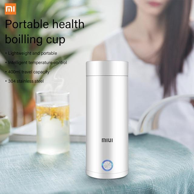 400ml Portable Electric KettlesThermal Cup Make tea Coffee Travel Boil water Keep warm Smart Water Kettle Kitchen Appliances 3