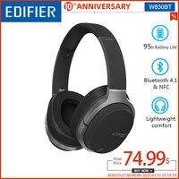 EDIFIER W830BT Wireless Headphones Bluetooth v4.1 HIFI Stereo Earphones Deep Bass Wireless Earphone Support aptX codec NFC tech