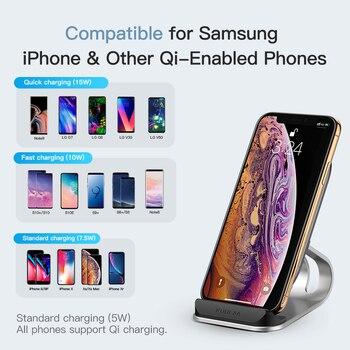 Беспроводное зарядное устройство KUULAA Qi 15 Вт для iPhone 4