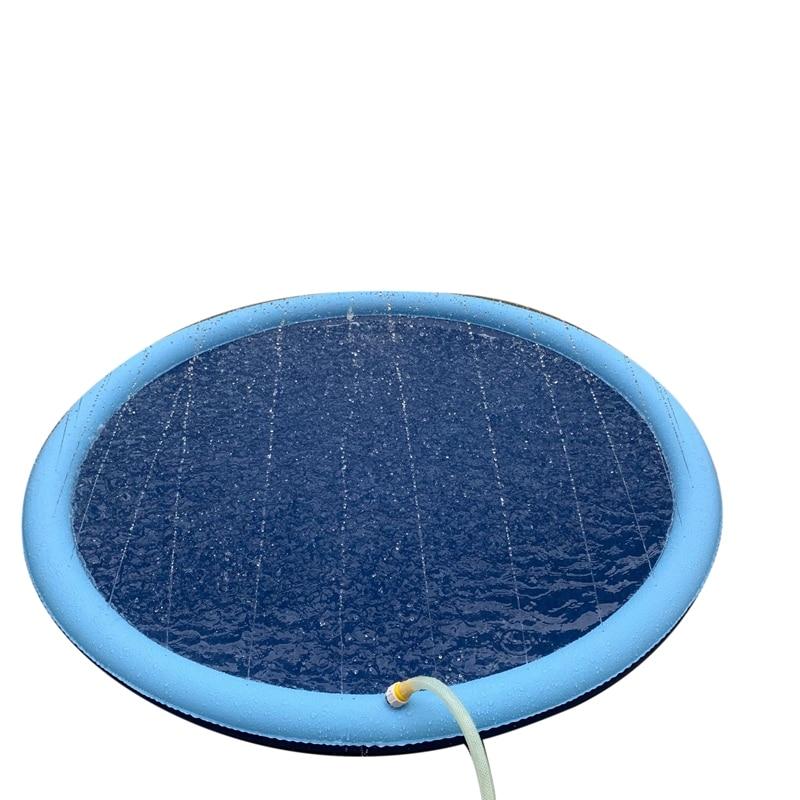 praia inflável spray almofada de água piscina