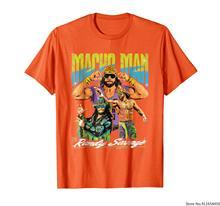 WWE-Camiseta con gráfico clásico para hombre, Macho, Randy Savage