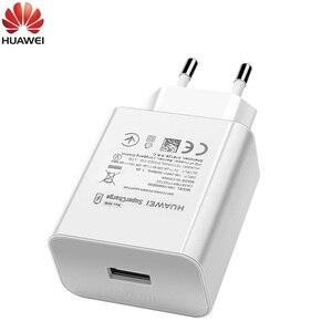 Зарядное устройство Huawei p40 pro с USB-портом, быстрое зарядное устройство с суперзарядкой, 10 в, 4 а, 40 Вт, адаптер, 5 А, кабель Type C для Magic 2 mate 20 30 pro P20 ...