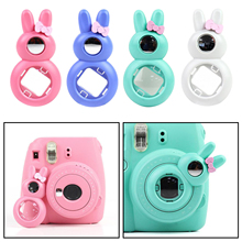 Close-Up-Lens Camera-Pink And Instax Mini for Blue Green White 7s Rabbit-Ear-Selfie Cute