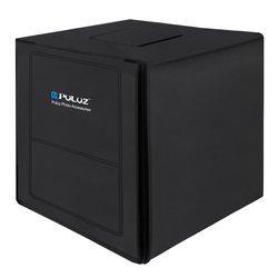 PULUZ 80cm Lightbox Photo Studio Softbox White Light Photo Lighting Studio Shooting Tent Box Kits & Photography Backdrop US Type