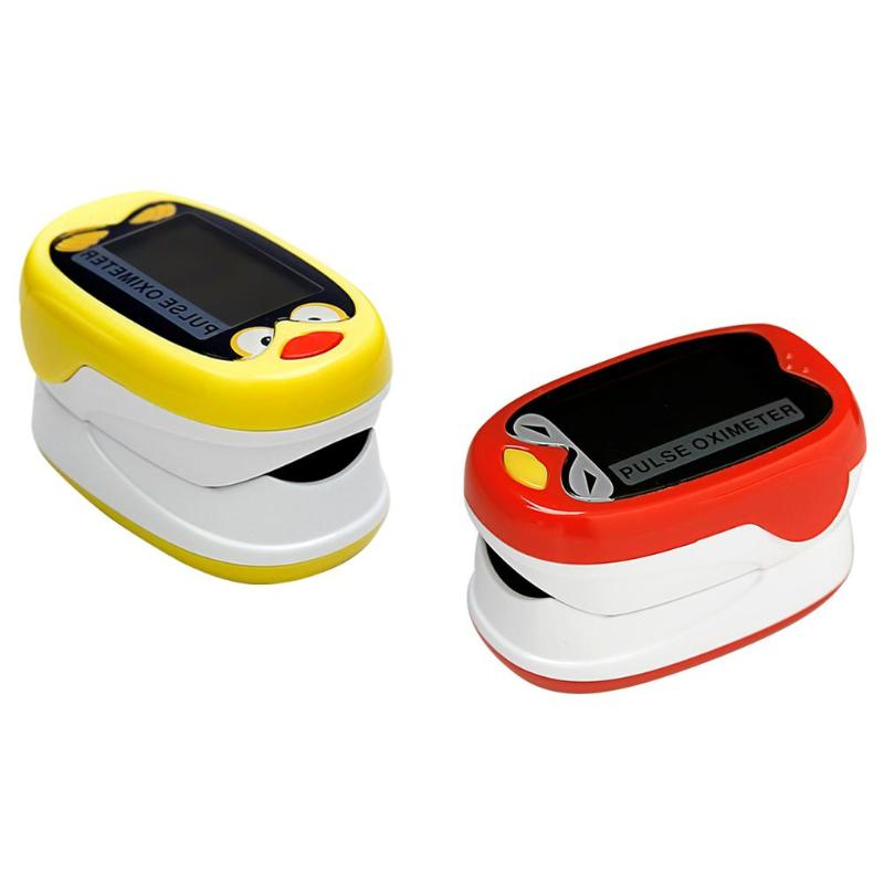 Rechargeable USB Pediatric Finger Tip Pulse Oximeter Blood Pressure Monitor No Signal 8 Seconds Automatic Shutdown Function