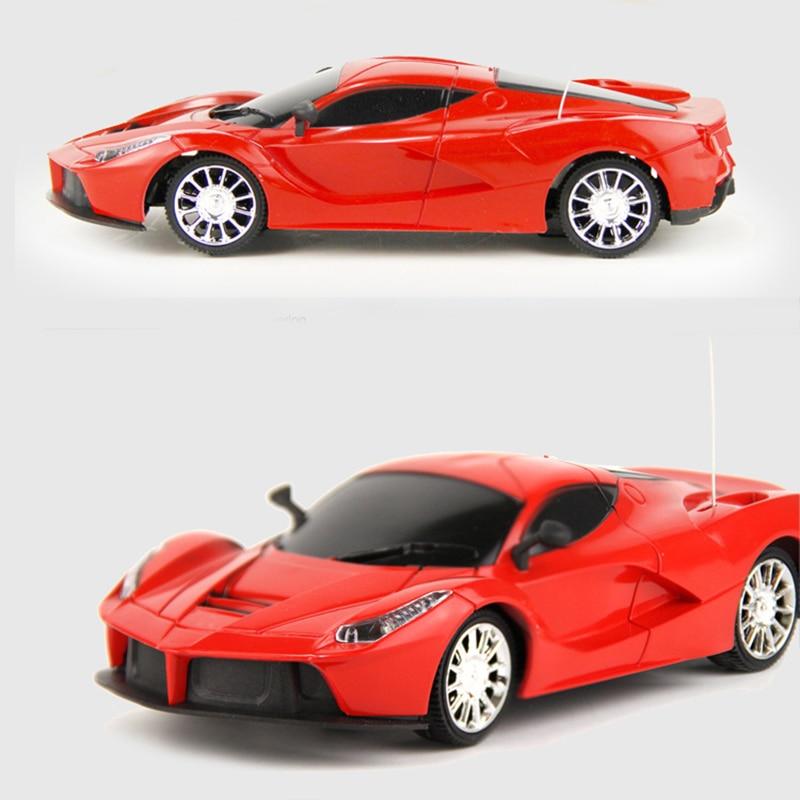Rc Car Sports Car Toy Children Remote Control Electric Luxury Red Racing Rafa Car Model Kids