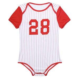 Image 5 - Мужское нижнее белье, пеленки для влюбленных, комбинезон, пижамы для взрослых, для малышей, с вырезом, прессованным шаговым швом, бейсбольная тематика, комбинезон, боди