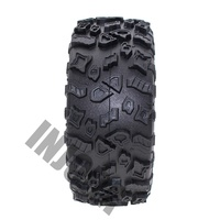 INJORA 4Pcs 2.2 Inch Rubber Tyres Wheel Tires for 1/10 RC Rock Crawler SCX10 RR10 Wraith YETI 90026 90020 90031 90045 90056 3