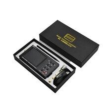 Portátil previsiones acero 6G de analizador de red reflectómetro GS320 23-6200MHz NanoVNA 6GHz NANOVNA TypcUSB conexión SOL Calibrat