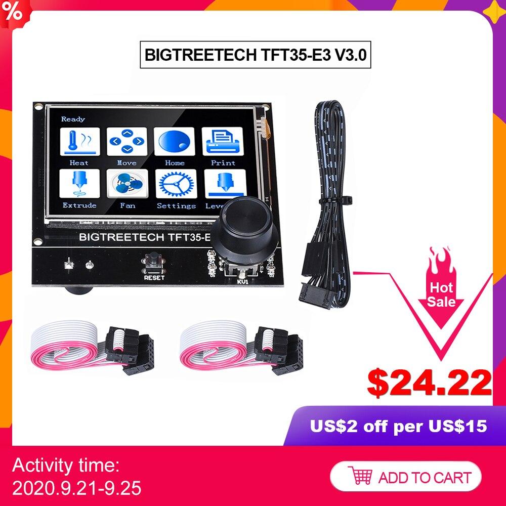 BIGTREETECH TFT35 E3 V3.0 터치 스크린 12864LCD 디스플레이 Wifi TFT35 3D 프린터 부품 Ender3 업 그레 이드 CR10 SKR 미니 E3 보드