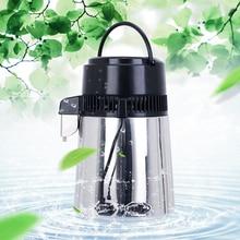 4L Water Distiller Distilled Water Machine Distillation Purifier Filter Stainless Steel Technology Water Jar Carbon Filter