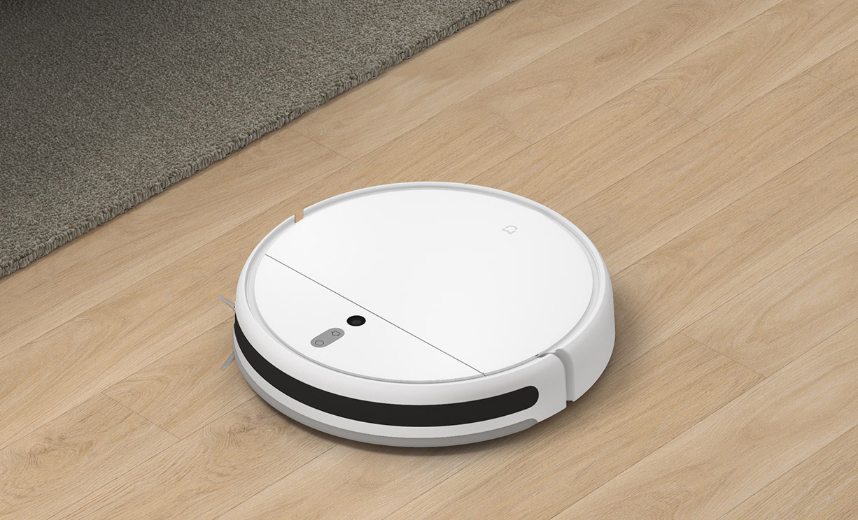 H31c6065c75e842f6a586cecfd5d43adeZ Xiaomi Mi Robot Vacuum Cleaner 1C Sweeping Mopping STYTJ01ZHM for Home Automatic Dust Sterilize Smart Planned Cleaner