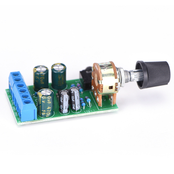 New TDA2822M 2.0 Stereo Audio Amplifier Board Dual Channel AMP AUX Amplifier Board Module DC 1.8-12V For Arduino image