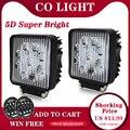 CO LICHT 5D Led Arbeit Licht Bar 27W 4inch Offroad Auto Scheinwerfer für Lkw Traktor Boot Anhänger 4x4 SUV Led Fahr Licht 12V 24V