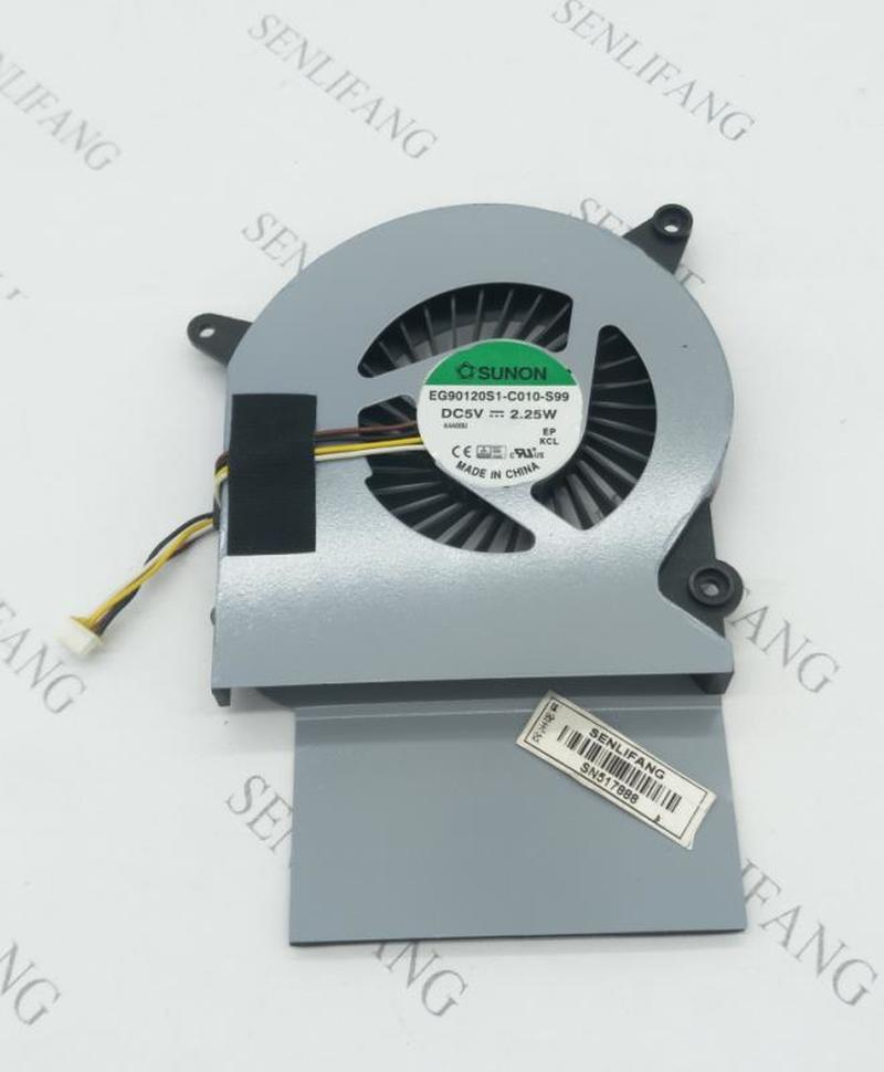 Free Shipping Cpu  Fan FOR Lenovo IdeaCentre A740 A540 Laptop Cpu Cooling Fan Cooler 90205305 EG90120S1-C010-S99 5V 2.25W