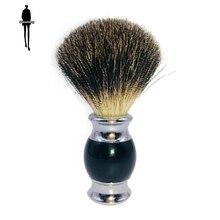 Boar Mane Beard Brush Safety Shaving Tool Shaving Brush Gentle and Comfortable Brush Head Best Gift for Men