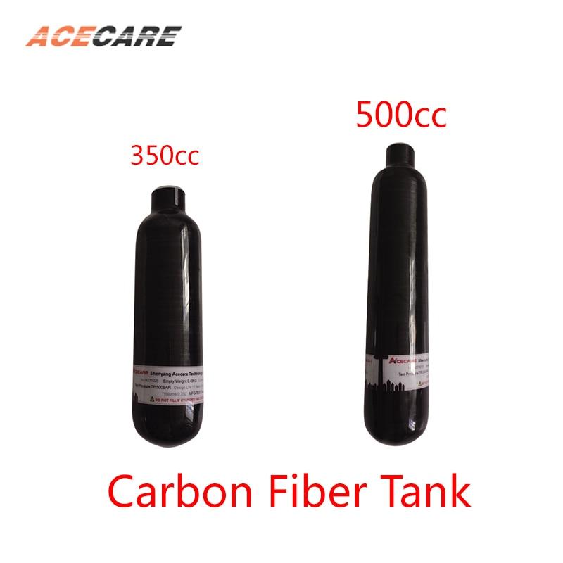 AC3050 Pcp Air Rifle Scuba Tank 0.35L/0.5L Airforce Conder Mini Pellet Carbon Fiber Tank 4500Psi M18*1.5